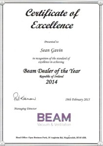 Beam Systems Dealer of the Year